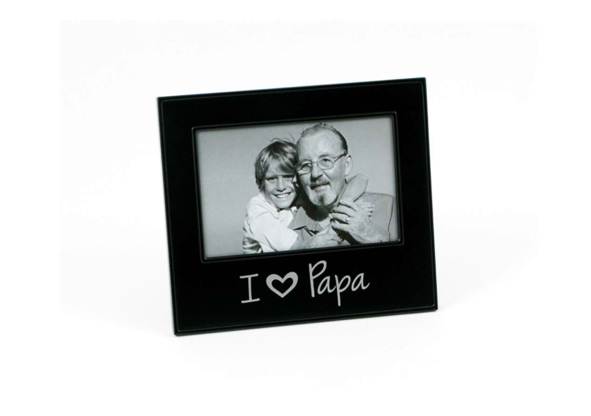 I Heart Papa Frame | Key Centre Engravables - Guelph, Ontario
